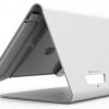 iPad(9.7インチ)用 ノーリ・キオスク_飲食店用スタンド_盗難防止_白