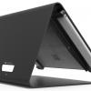Surface pro用 ノーリ・キオスク_黒_盗難防止機能付き卓上スタンド_背面