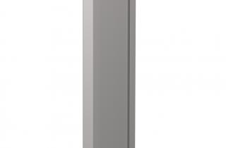 iPad 9.7インチ用_第6世代_フロアスタンド_シルバー_業務用_展示会用_シルバー