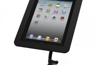 iPad用盗難防止アーム黒159B213EXENB壁やデスクに固定