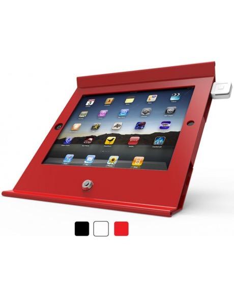 iPad_盗難防止_固定_設置_ケース_赤