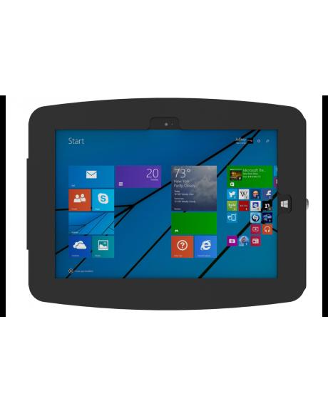 Surface Pro_盗難防止_業務用_スペース・エンクロージャー_黒_正面