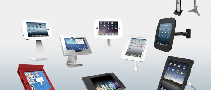 iPad_店舗用_業務用_盗難防止_スタンド_豊富なバリエーション