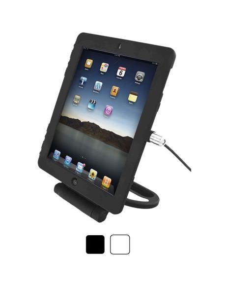 iPad Air 回転機能付きセキュリティスタンド_セキュリティ_ケーブルロック