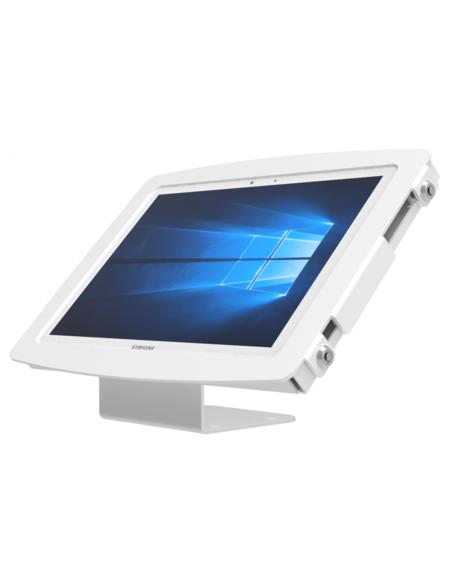 Surface Pro用スペース・ベーシックスタンド_白_卓上スタンド_盗難防止_業務用