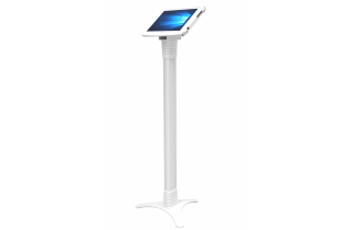 SurfacePro用スペース・スマートフロアスタンド_業務用_盗難防止_白