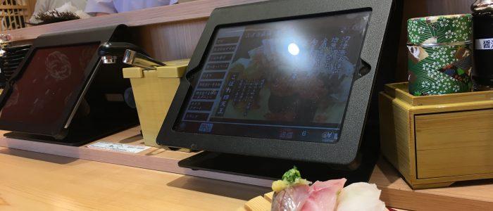 iPad_飲食店用スタンド_ノーリキオスク_卓上オーダリングシステム