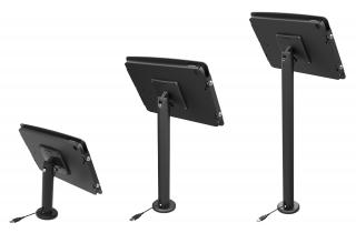 iPad Pro12.9インチ用スペース・ポールスタンド_黒