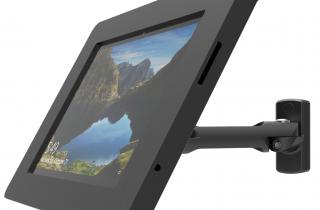 壁掛け_業務用盗難防止機能付き_SurfacePro用スペース・スイングアームスタンド
