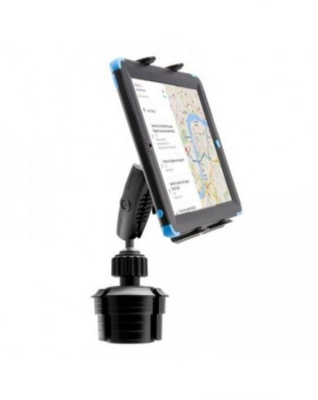 車載用カップホルダー取り付け型タブレットホルダー